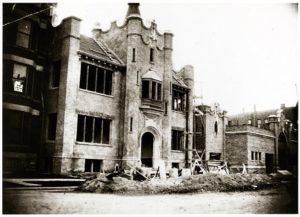 Photograph of the Lyceum under Construction, ca. 1907 St. Vincent's Church Records DeAndreis-Rosati Memorial Archives