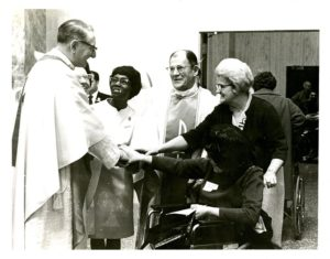 Fr. Joe Ward and Apostolate of the Handicapped, 1960s Vincentian Personnel Files, Ferdinand Ward DeAndreis-Rosati Memorial Archives
