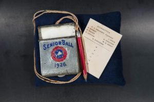 Senior Ball dance card with metal case, 1926 DePaul University Ephemera DePaul University Archives