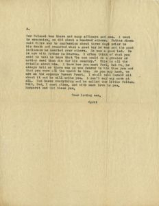Letter, Cyril Ward to Albert J. Ward, 1918 Vincentian Personnel Files, Ferdinand Ward DeAndreis-Rosati Memorial Archives